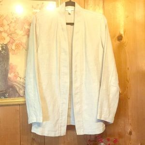 Eileen Fisher Linen Jacket Size Small